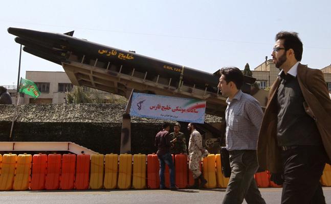 Rachete balistice în Iran