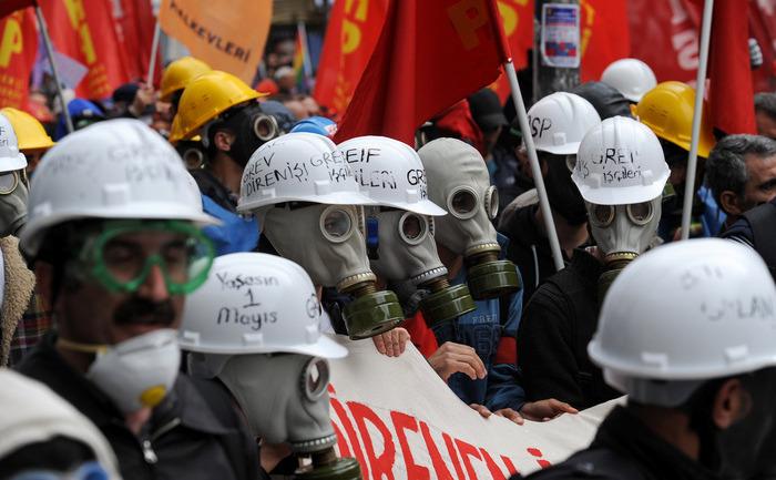 Proteste de 1 mai în Turcia, Istanbul