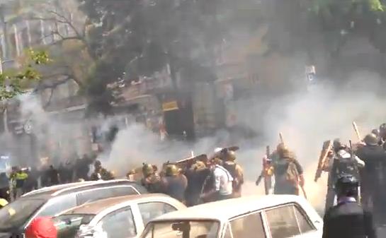 Conflicte între ucraineni şi forţele pro-Rusia în Odesa. 2 mai 2014.