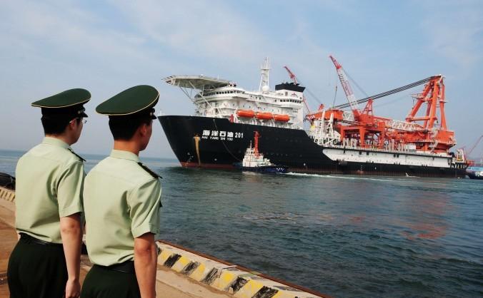 Platforma petrolieră China Naţional Oil Corp.