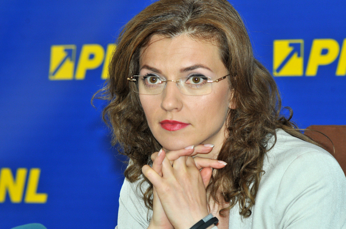 Preşedintele PNL, Alina Gorghiu