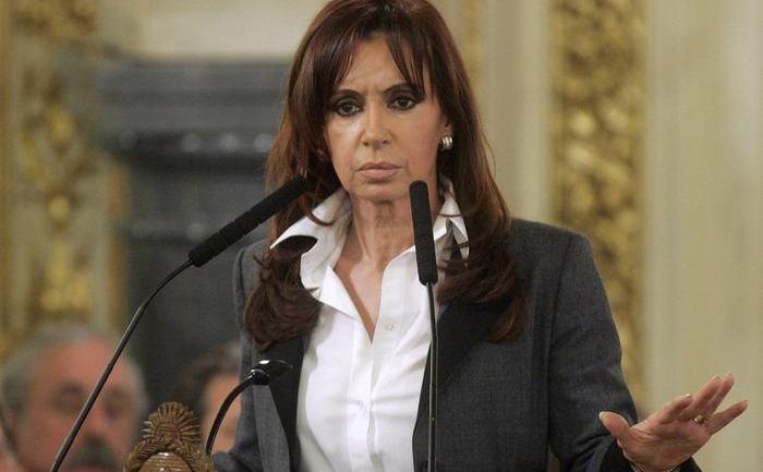 Cristina Kirchner, preşedintele Argentinei.