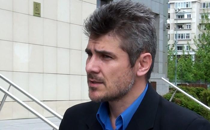 Liderul Sindicatului Unit al Salariatilor-Radio Romania, Adrian Moise, 16 mai 2014