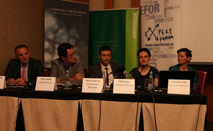Conferinţă Greenpeace şi Candole Partners, 15 mai 2014