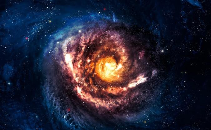 Galaxie Spiralată.