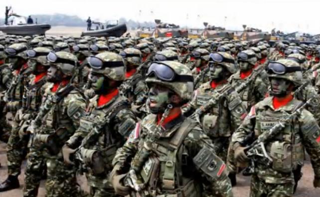 Forţele armate ale alianţei ASEAN.