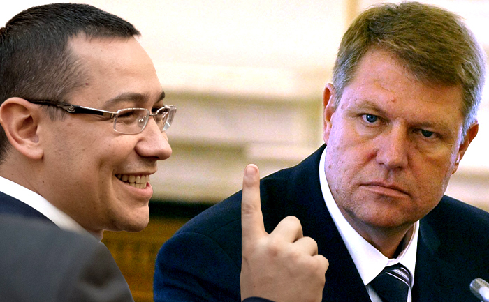Victor Ponta vs Klaus Iohannis
