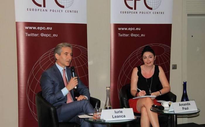 """Iurie Leancă a participat la dezbaterea publică """"Drumul Moldovei spre Europa- Ce urmează?"""", desfăşurată la Bruxelles"""