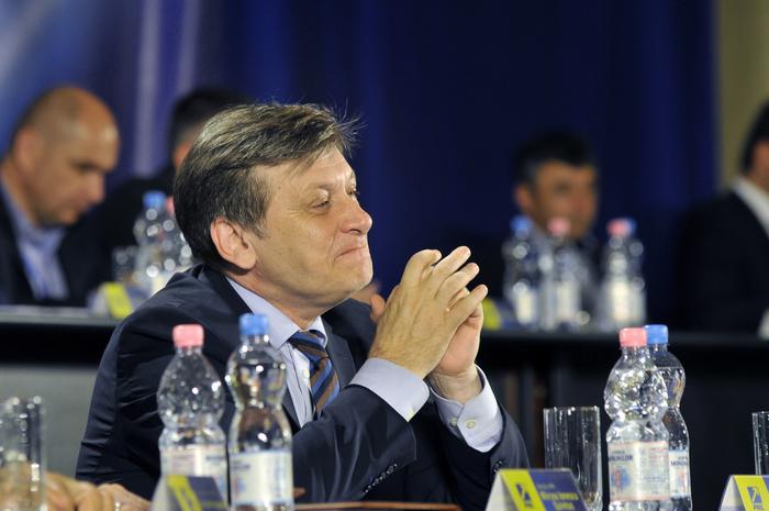 Congres Extraordinar al Partidului Naţional Liberal, 27 iunie 2014, Palatul Parlamentului. În imagine, Crin Antonescu