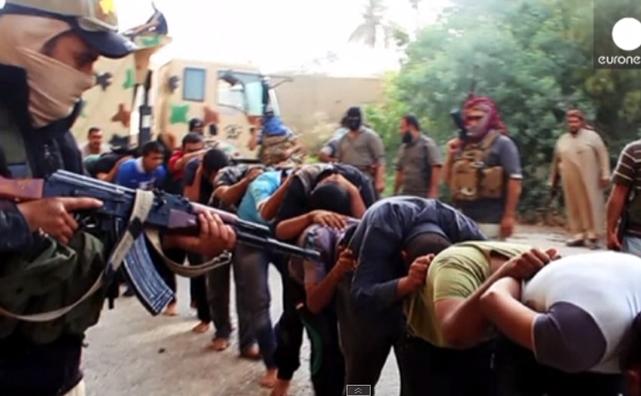 Extremiştii ISIL din Irak.