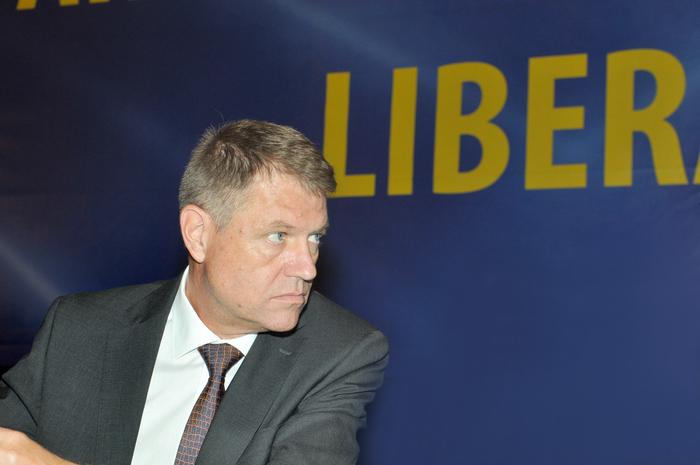 Congres Extraordinar al Partidului Naţional Liberal, 27 iunie 2014,  Palatul Parlamentului. În imagine,Klaus Iohannis