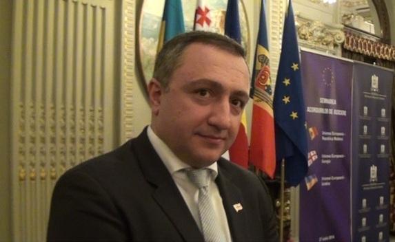 Excelenţa Sa, Ambasadorul Georgiei în România, dl Giorgadze Ilia