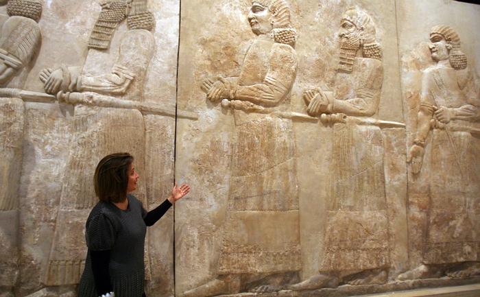 Muzeul Naţional din Irak, Sala Asiriană