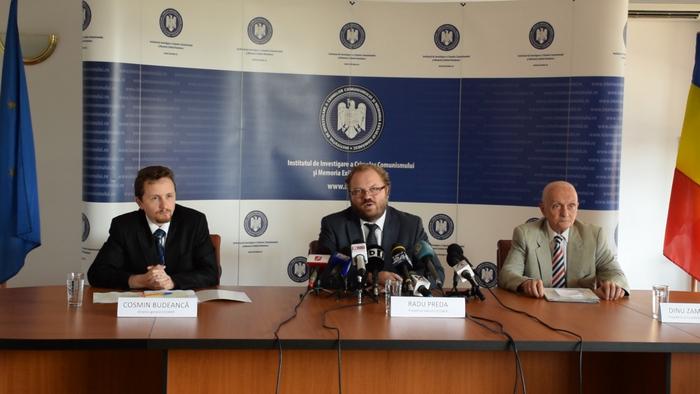 Institutul de Investigare a Crimelor Comunismului şi Memoria Exilului Românesc (IICCMER), conferinţa de presă 8 iulie 2014