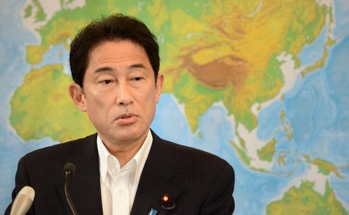 Ministrul japonez de Externe, Fumio Kishida