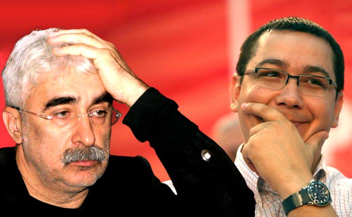 Adrian Sarbu si Viorel Victor Ponta.