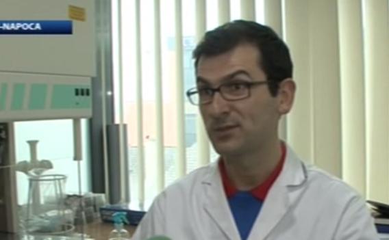 Cercetătorul şi inventatorul român Dan Vodnar.