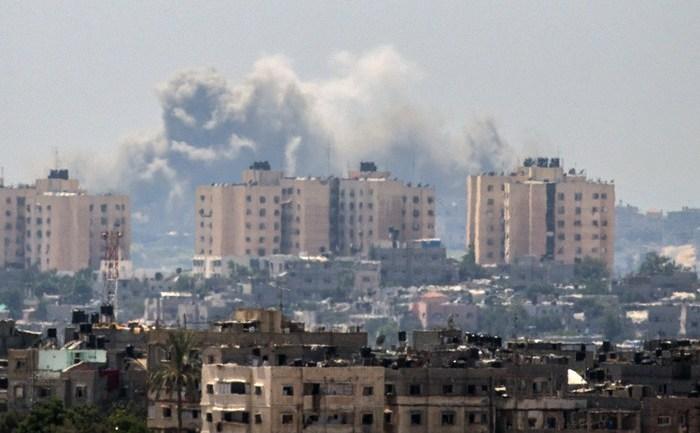 Bombardamente israeliene în Fâşia Gaza, 10 iulie 2014