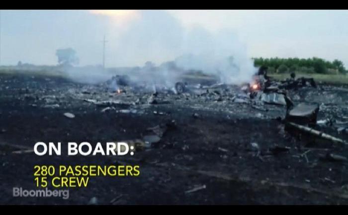 Tensiune maximă în urma doborârii unui avion  al Malaysia Airlines cu pasageri la bord în estul Ucrainei.