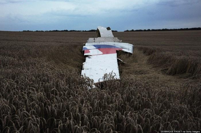 Aeronava distrusă a zborului MH17 al companiei Malaysia Airlines