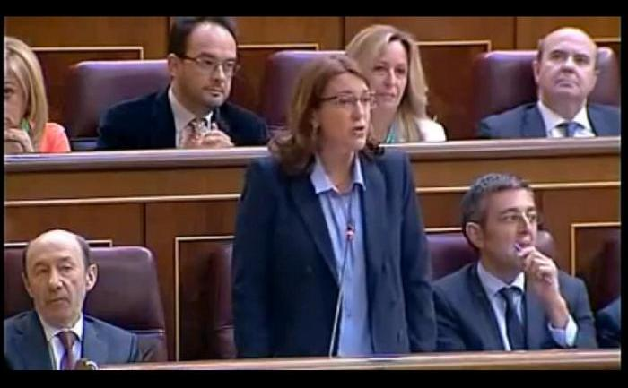 Vicepremierul spaniol Soraya Saenz de Santa Maria.