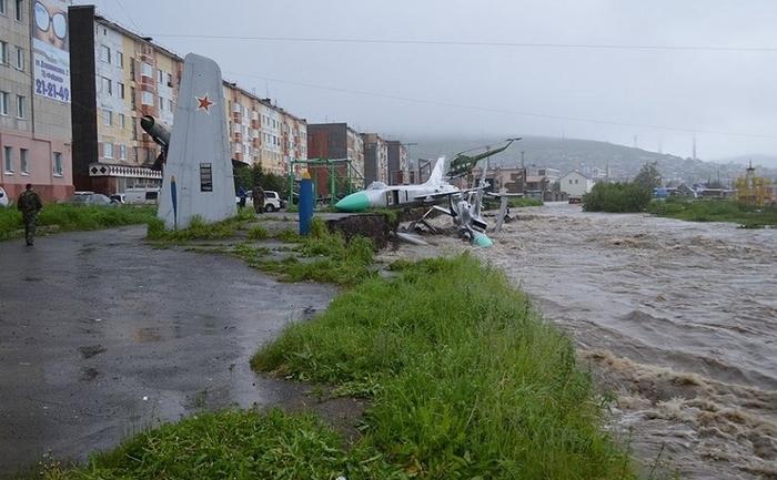 Inundaţii în Rusia, Magadan, 23 iulie 2014