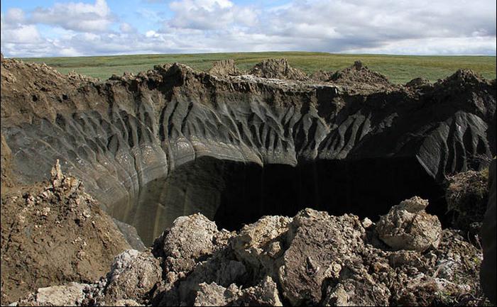 Găuri imense în crusta Pământului, descoperite în Siberia