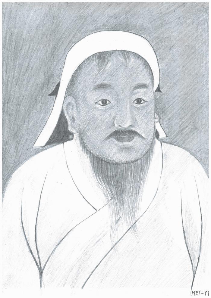 Genghis Khan, marele fondator al Imperiului Mongol