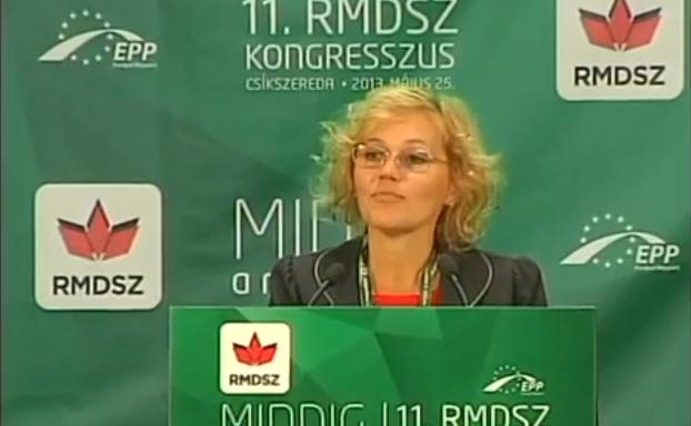 Senatorul UDMR, Rozalia Biro.
