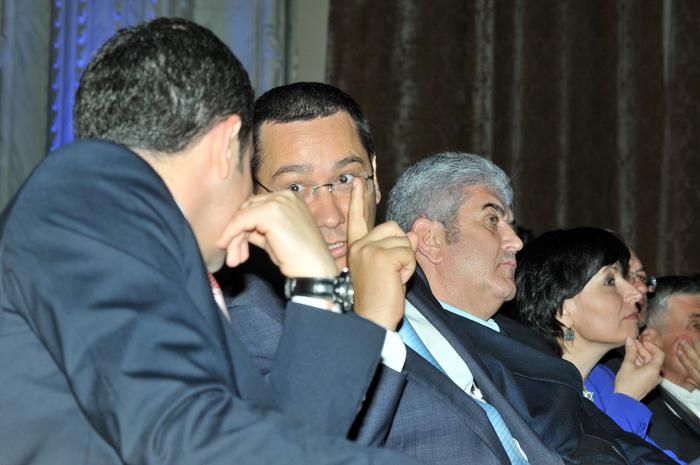 Daniel Constantin, Victor Ponta şi Gabriel Oprea
