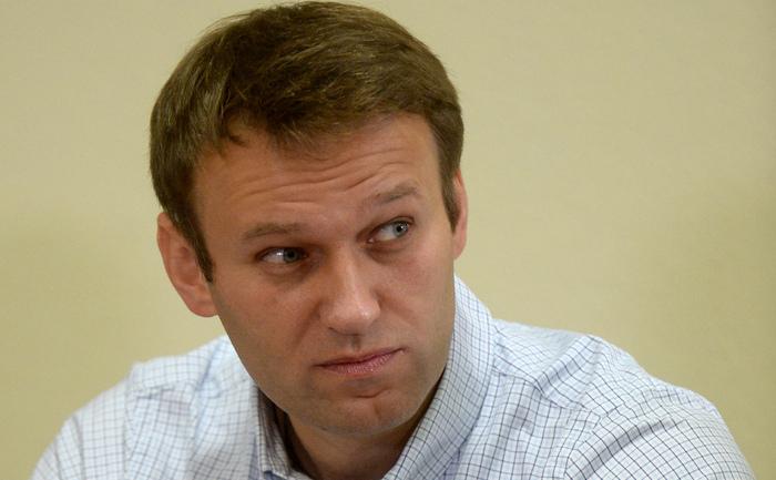 Alexei Navalny în Kirov, 16 octombrie 2013.