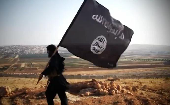 Militant al grupării Statului Islamic.
