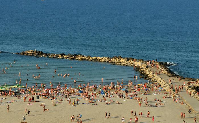 Plaja Modern din Constanţa, vacanţă pe Litoralul românesc