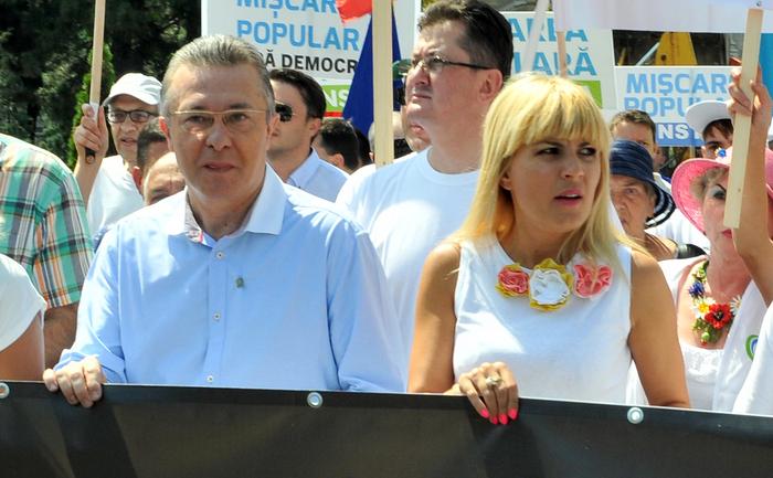 Cristian Diaconescu si Elena Udrea