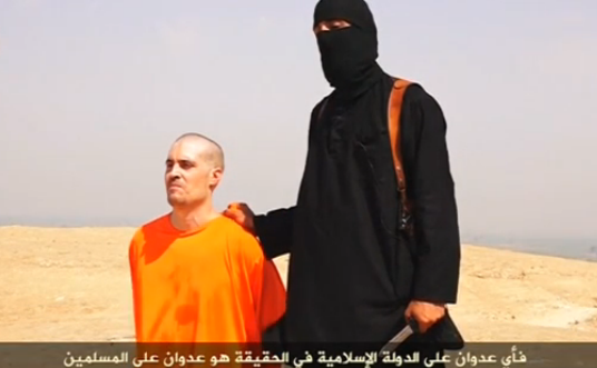 Jurnalistul american James Foley, care ar fi fost decapitat de Statul Islamic.