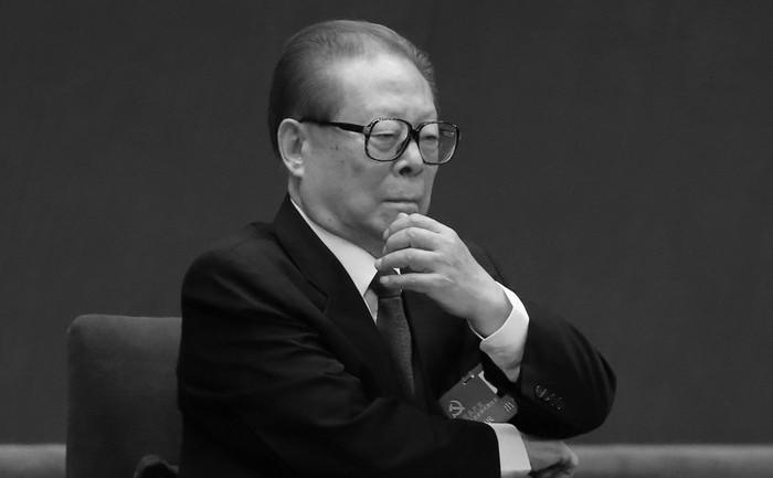 Fostul lider al Partidului Comunist Chinez, Jiang Zemin.