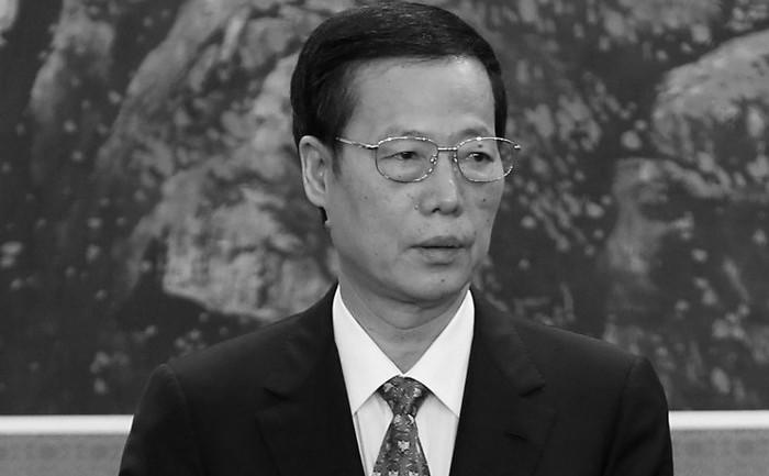 Zhang Gaoli, membru al Biroului Politic Central al Comitetului Permanent al PCC