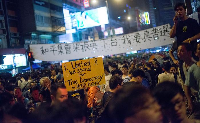 Protestele anti-Beijing din Hong Kong continuă, în ciuda reprimării dure a mişcării studenţeşti