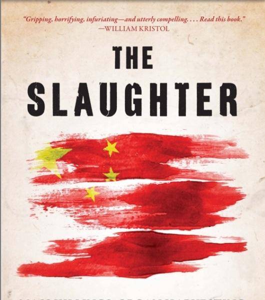 """Coperta cărţii """"The Slaughter"""", """"Carnagiul"""""""