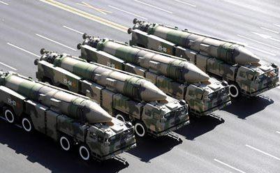 Rachete balistice anti-navă DF-21.