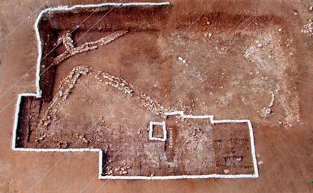 Cuptor din neolitic descoperit in Croaţia.