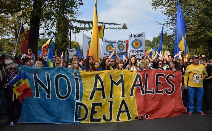 Marş pentru Basarabia, Bucureşti, 12 octombrie 2014