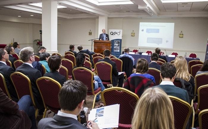 """Conferinţă""""Viitorul gazelor de şist în Europa"""", Bruxelles, 15 octombrie 2014."""