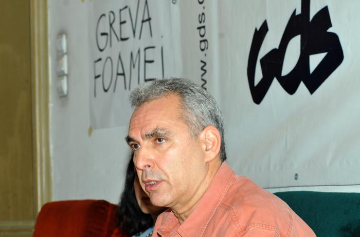 Conferinţă de presă la GDS cu Andrei Ursu, fiul dizidentului ing.Gheorghe Ursu