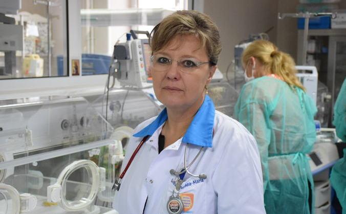 Dr. Ana Maria Bradeanu, medic primar pediatru la Spitalul Grigore Alexandrescu