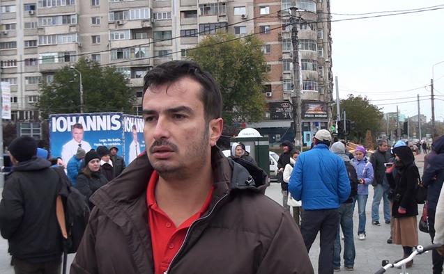 Protest împotriva betonărilor în Parcul IOR, 25 octombrie 2014.