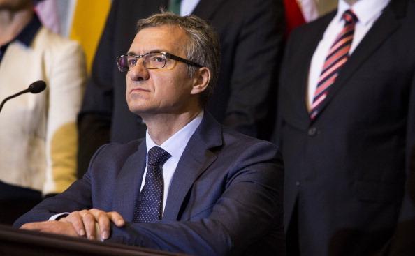 Ministrul ucrainean al finantelor, Oleksander Şlapak.