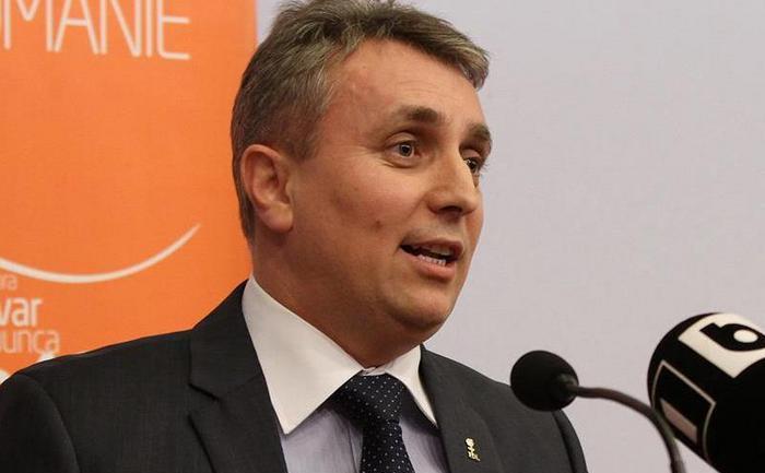 Lucian Bode, fost ministru al Economiei.