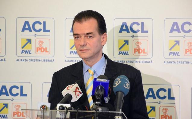 Ludovic Orban, conferinţă de presă la sediul ACL, 12 noiembrie 2014