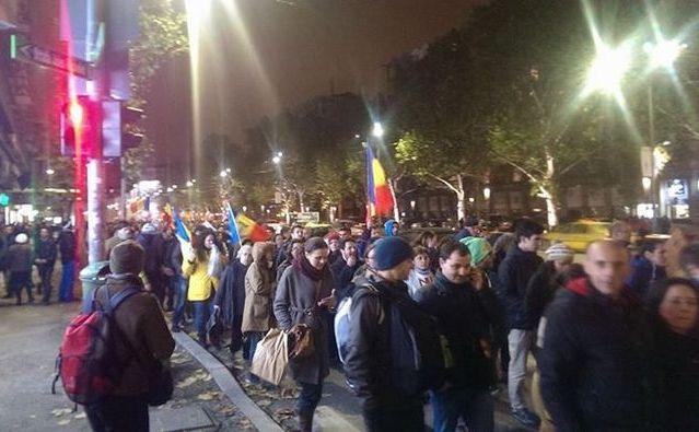 Miting pentru alegeri libere la Bucureşti